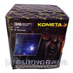Салют EUPHORIA 36 выстрелов 30 калибр   Фейерверк P7509 Kometa