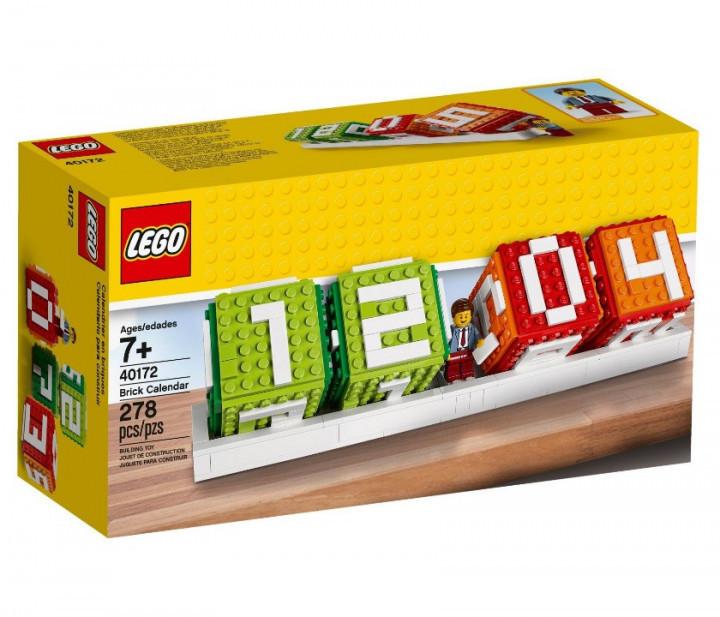 Lego Iconic Календарь из Кубиков
