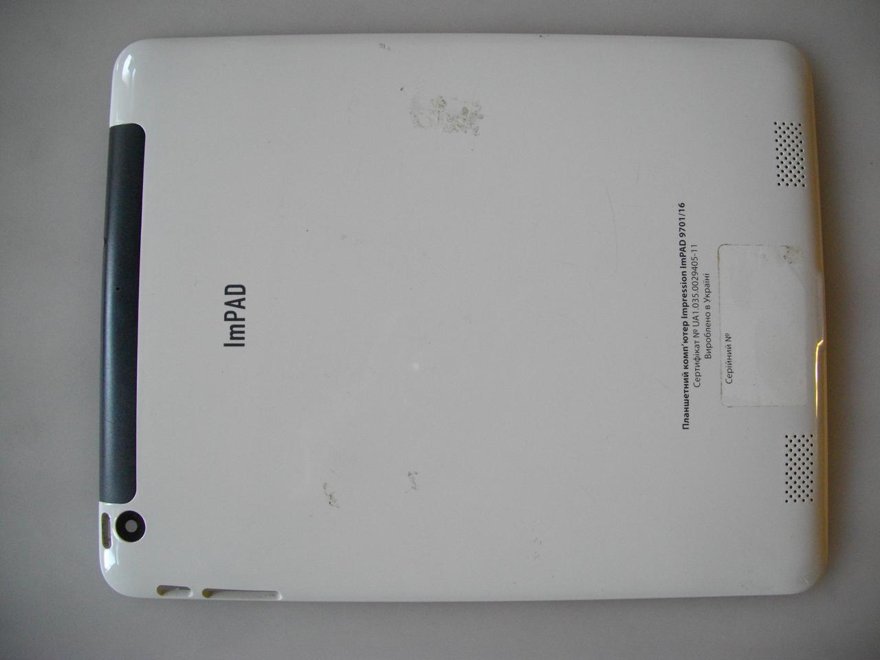 Корпус крышка от планшета Impression ImPad 9701, 9701/16 БУ