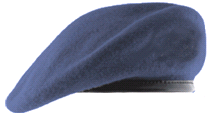 Берет Повітряні Сили Грозове небо (сіро-синій)