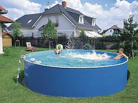 Сборной бассейн Azuro Basic (3,6 х 0,9 м) с картриджным скиммером