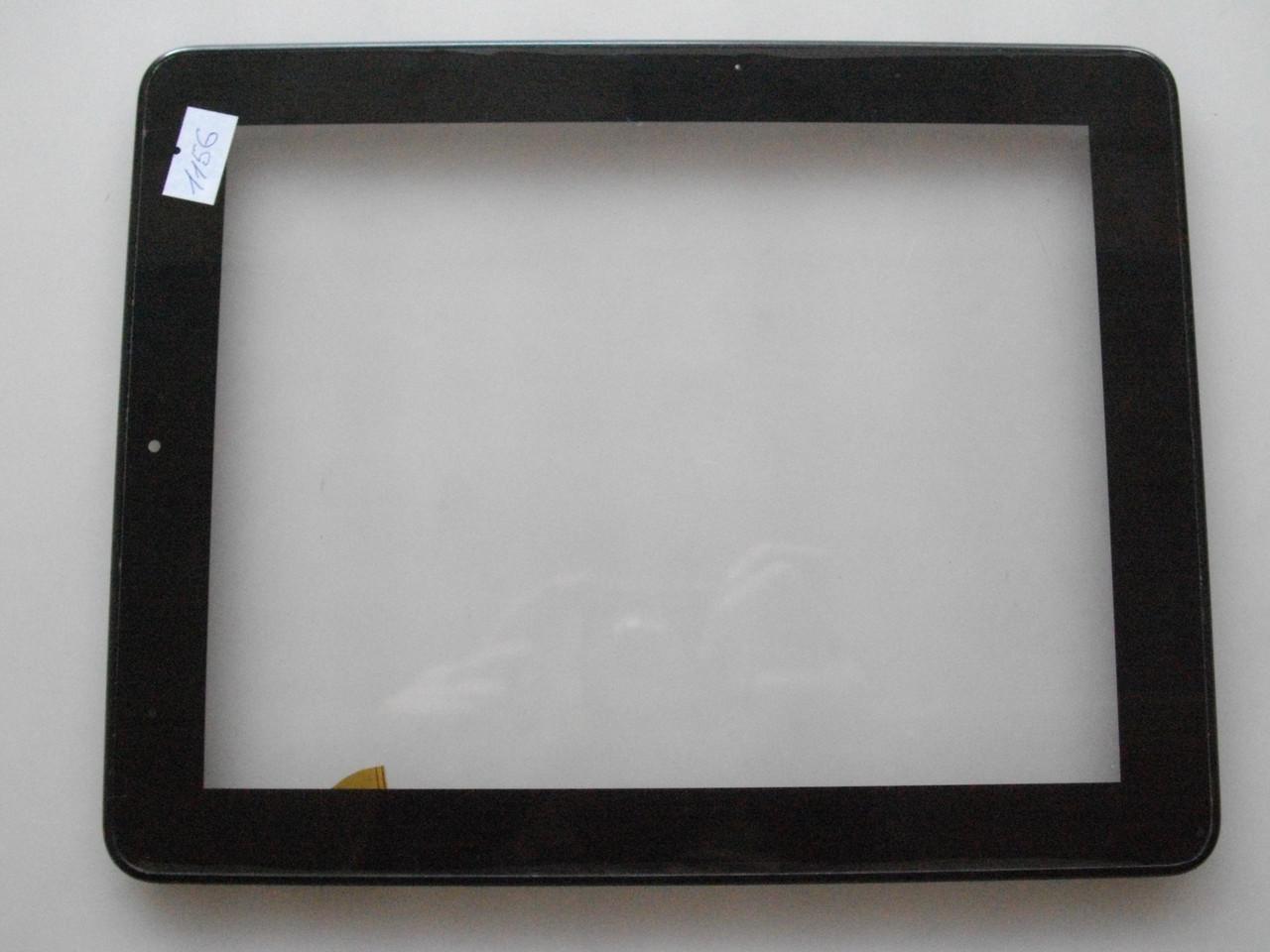 Оригинальный Сенсор с рамкой для планшета Impression ImPad 9701, 9701/16 БУ (шлейф сенсор поврежден)