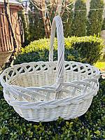 Велікодній плетінь кошик з лози 36х24х34