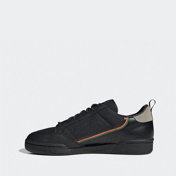 Кроссовки мужские Adidas Continental 80 черные (EE5597)