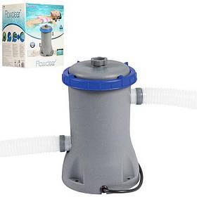 Картріджний фільтр-насос грубої очистки Bestway 58383 | Фільтраційна установка 2 м3/ч