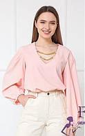 Легкий жіночий блузка з широкими рукавами 017В / 04, фото 1