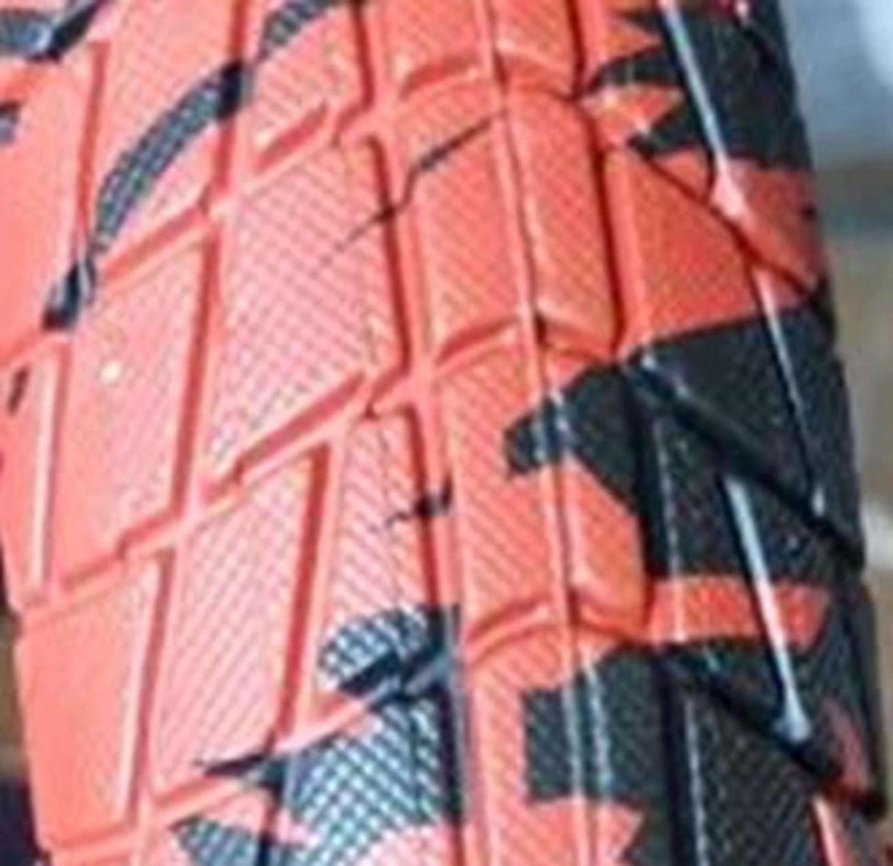 Велосипедна шина 20 * 2,125 BLUE/ RED Індия RALSON