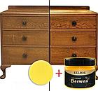 ОПТ Поліроль для меблів beewax 80 г Восковий поліроль М'який віск для меблів, фото 8