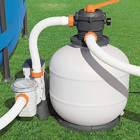 Пісочний фільтр-насос Bestway 58499 | Фільтраційна установка 7.7 м3/год