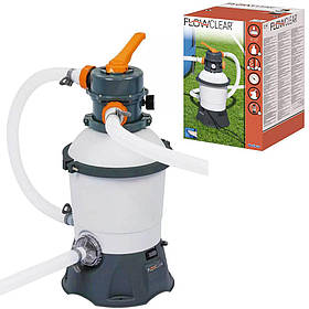 Пісочний фільтр-насос Bestway 58515 | Фільтраційна установка 3 м3/ч