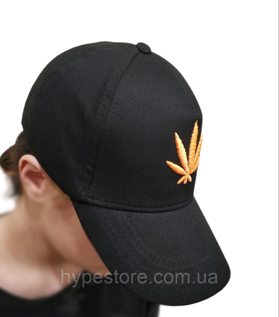 Кепка бейсболка унисекс, конопля канабис марихуана