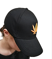 Кепка бейсболка унисекс, конопля канабис марихуана, фото 1