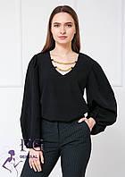 Красивая блузка с широкими рукавами  017В/06, фото 1