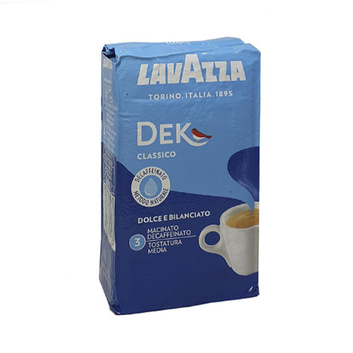 Кава мелена без кофеїну Lavazza Dek Classico 250 г