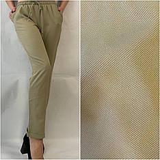 Летние брюки (супер софт, диагональка) , №19 салатовый