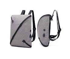 Багатофункціональний місткий рюкзак UNO bag Black c виходом для USB і навушників