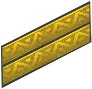 Нарукавний знак На 2 курсі До парадної та повсякденної форми одягу