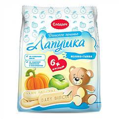 Дитяче печиво Слодич Лапушка, 0+, 180г