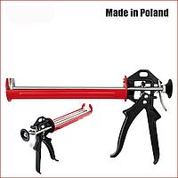 Пистолет для герметика усиленный с тройным штоком YATO YT-6753