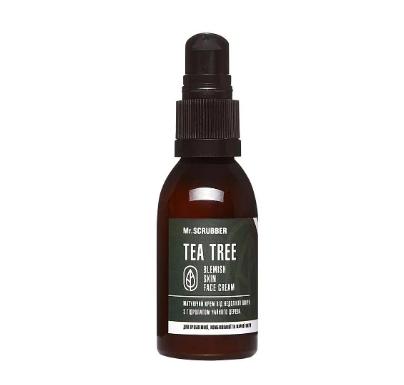 Крем для лица с гидролатом чайного дерева Blemish Skin Face Cream Tea Tree Mr. Scrubber 55 мл