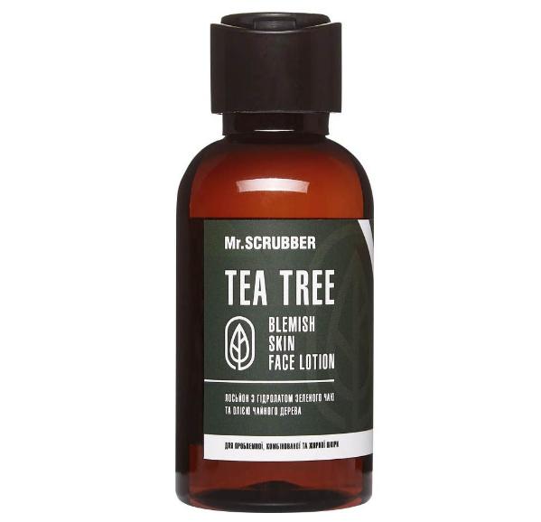 Лосьон с гидролатом зеленого чая Blemish Skin Face Lotion Tea Tree Mr.SCRUBBER 125мл