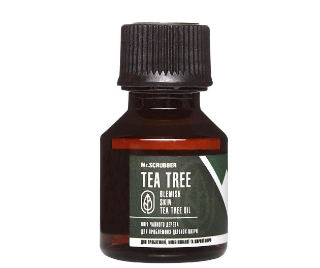 Масло чайного дерева для проблемних ділянок шкіри Blemish Skin Tea Tree Oil Mr.Смуги навігації 15мл