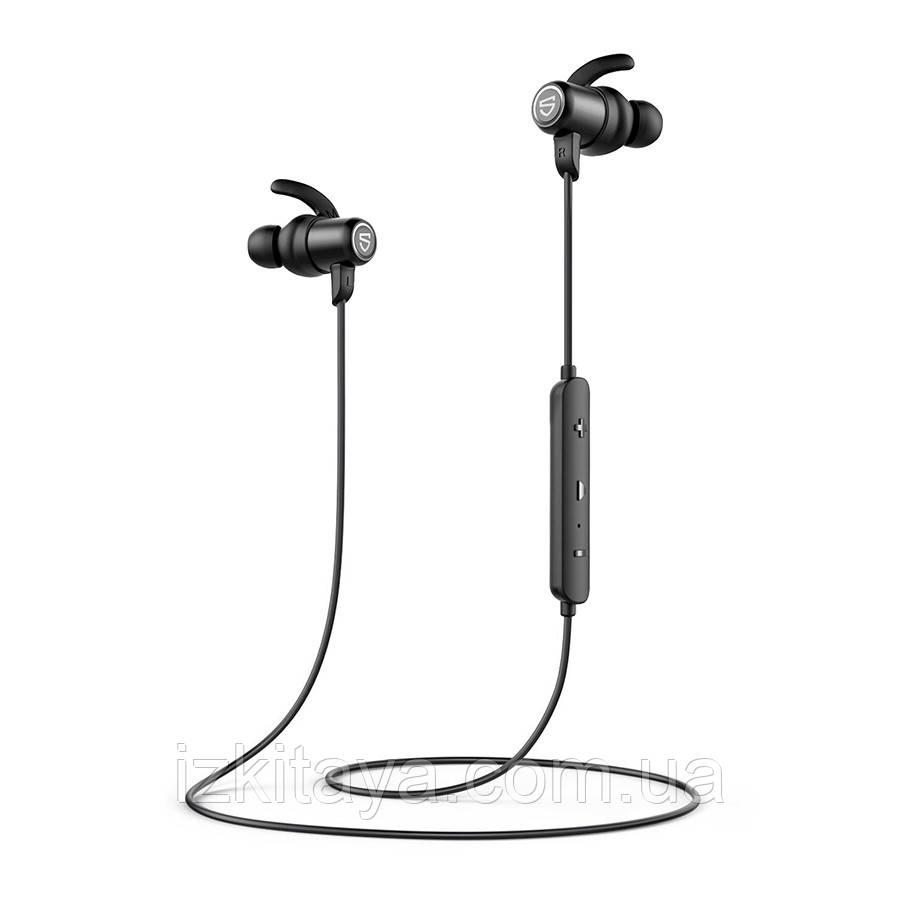 Наушники Bluetooth беспроводные SoundPEATS Q35+ black наушники с блютузом