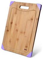 Дошка обробна Fissman бамбукова 40х28см