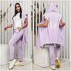 Повсякденний жіночий костюм двійка бузковий (4 кольори) VV/-1402
