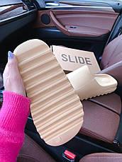Женские шлепанцы Adidas Yeezy Slide Bone FW6345, фото 3