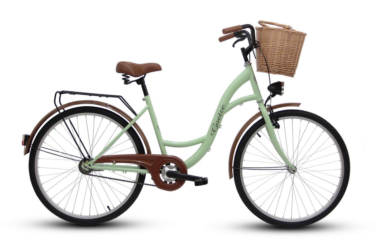 Велосипед Goetze 26 Eco + фара і в Подарунок кошик
