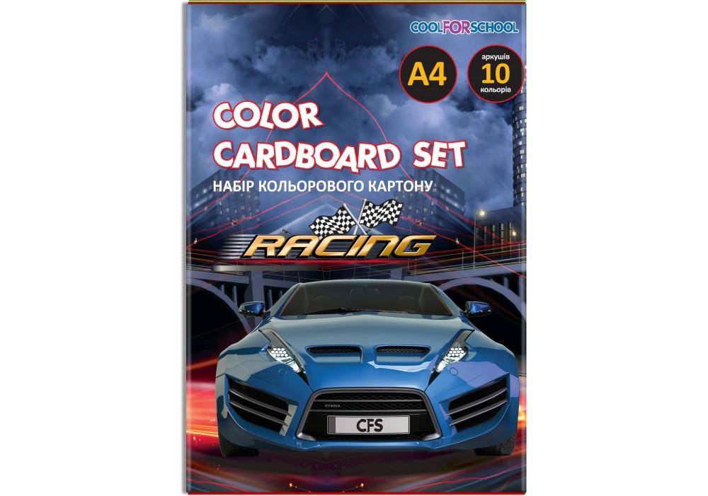 """Набор цветного картона А4, 10 л., """"CFS"""" CF05281-02"""