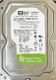 Жёсткий диск HDD Western Digital 500GB (WD5000AVDS-63U7B1) Б/У