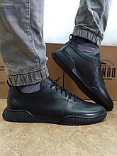 Стильные комфортные кожаные туфли под кеды Rondo