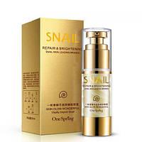 Крем для кожи вокруг глаз с муцином улитки увлажнение и лифтинг One Spring Snail Repair & Brightening, 35г