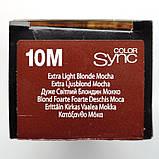 10М (очень-очень светлый блондин мокка) Тонирующая крем-краска для волос без аммиака Matrix Color Sync,90 ml, фото 2