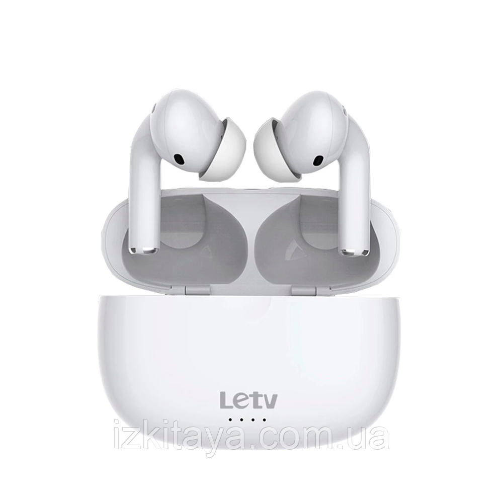 Навушники Bluetooth беспровідні Letv Ears Pro white навушники с блютузом