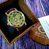 Winner Женские часы Winner Gold  Brown, фото 9