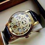 Winner Женские часы Winner Gold  Brown, фото 10