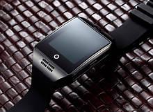 UWatch Розумні смарт годинник з сім-картою 2018 року Smart Q18 UWatch 5041 NFC Black