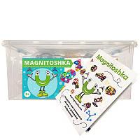 Магнитный конструктор Magnitoshka 160 деталей (большой размер, все магнитные детали)