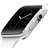 UWatch Смарт часы Smart X6 White, фото 3