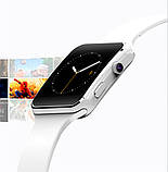 UWatch Смарт часы Smart X6 White, фото 6