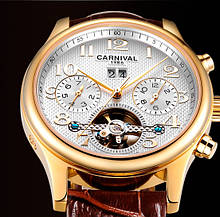 Carnival Чоловічі годинники Carnival Swiss Brown