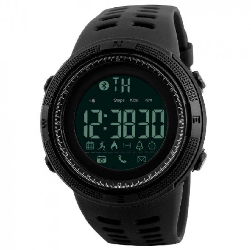 Skmei Мужские спортивные кварцевые часы Skmei Clever Black 1250