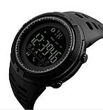 Skmei Мужские спортивные кварцевые часы Skmei Clever Black 1250, фото 2
