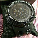 Skmei Мужские спортивные кварцевые часы Skmei Clever Black 1250, фото 3