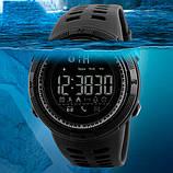 Skmei Мужские спортивные кварцевые часы Skmei Clever Black 1250, фото 6
