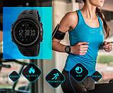 Skmei Мужские спортивные кварцевые часы Skmei Clever Black 1250, фото 9