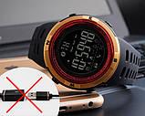 Skmei Мужские спортивные кварцевые часы Skmei Clever Black 1250, фото 10